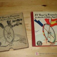 Catálogos publicitarios: EL TOUR DE FRANCIA Y LA VUELTA CICLISTA A ESPAÑA. Lote 21709664