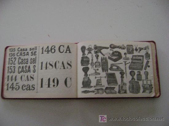Catálogos publicitarios: AMBROSIO ALLADO-SELLOS-GRABADOS-MARCAS - Foto 2 - 261903795