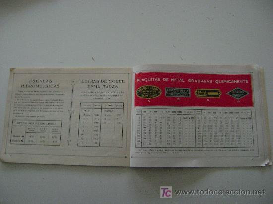 Catálogos publicitarios: AMBROSIO ALLADO-SELLOS-GRABADOS-MARCAS - Foto 5 - 261903795