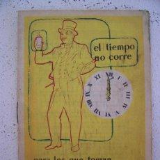 Catálogos publicitarios: FOLLETO DE FARMACIA:INFORMACION SOBRE URODONAL, DISOLVENTE DE ACIO URICO. Lote 20866359