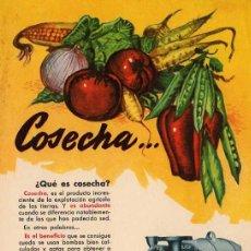 Catálogos publicitarios: FOLLETO PUBLICITARIO BOMBA BLOCH, AÑOS 40. Lote 8280729