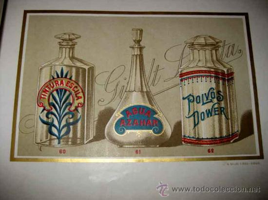 Catálogos publicitarios: ANTIGUO CATALOGO DE BOTAMENES PARA FARMACIAS - JUAN GIRALT LAPORTA - BARCELONA - MADRID - CATALOGO D - Foto 7 - 26892029