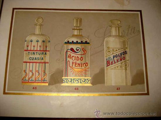 Catálogos publicitarios: ANTIGUO CATALOGO DE BOTAMENES PARA FARMACIAS - JUAN GIRALT LAPORTA - BARCELONA - MADRID - CATALOGO D - Foto 9 - 26892029
