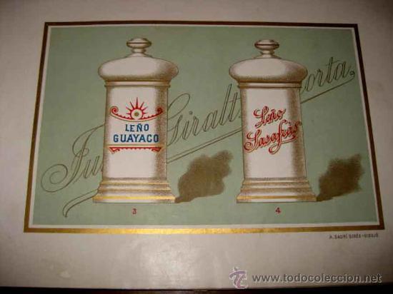 Catálogos publicitarios: ANTIGUO CATALOGO DE BOTAMENES PARA FARMACIAS - JUAN GIRALT LAPORTA - BARCELONA - MADRID - CATALOGO D - Foto 12 - 26892029