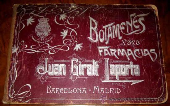 Catálogos publicitarios: ANTIGUO CATALOGO DE BOTAMENES PARA FARMACIAS - JUAN GIRALT LAPORTA - BARCELONA - MADRID - CATALOGO D - Foto 14 - 26892029