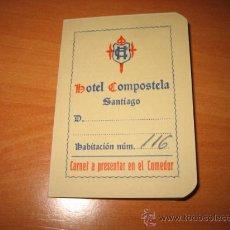 Catálogos publicitarios: HOTEL COMPOSTELA. Lote 9512045