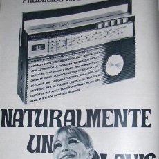 Catálogos publicitarios: PUBLICIDAD DE APARATOS DE RADIO LAVIS.. Lote 9610275