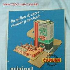 Catálogos publicitarios: FOLLETO PUBLICITARIO AUTOMOVILISMO. Lote 13850596