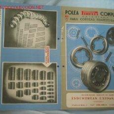 Catálogos publicitarios: PUBLICIDAD PIRELLI. Lote 14721637