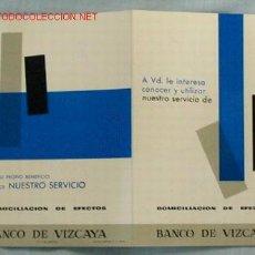 Catálogos publicitarios: PUBLICIDAD BANCO DE VIZCAYA. Lote 15892012