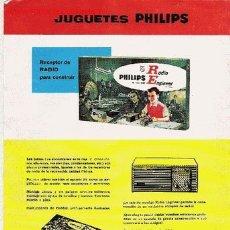 Catálogos publicitarios: CATÁLOGO DE JUGUETES PHILIPS. Lote 23129016