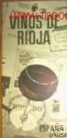 VINOS DE RIOJA. FOLLETO PUBLICIDAD.FOTOGRAFIAS. MARCAS (Coleccionismo - Catálogos Publicitarios)