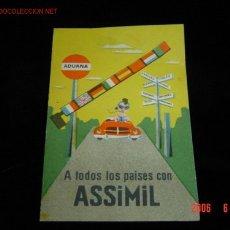 Catálogos publicitarios: DISCOS ASSIMIL. Lote 5863281