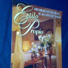 Catálogos publicitarios: 'ESTILO PROPIO'. CATÁLOGO PUBLICITARIO DE MUEBLES SARRIÁ.. Lote 23227918