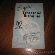 Catálogos publicitarios: BUJIAS FIRESTONE HISPANIA . Lote 12059567