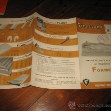 Catálogos publicitarios: FIRESTONE TARIFA Nº 2. Lote 12059569
