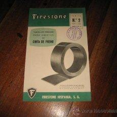 Catálogos publicitarios: FIRESTONE . Lote 12059570