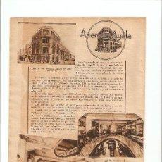 Catálogos publicitarios - HOJA REPORTAJE PUBLICIDAD.TENERIFE.ISLAS CANARIAS.ASENSIO AYALA - 11288295