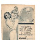 Catálogos publicitarios: HOJA PUBLICIDAD.AÑO1934.POLVOS HIGIENICOS CALBER.PERFUMERIA HIGIENICA CALBER.SAN SEBASTIAN.. Lote 11295823