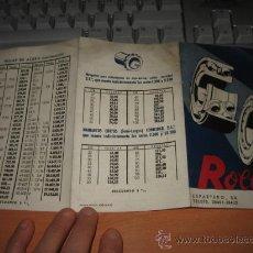 Catálogos publicitarios: ROLLER BILBAO . Lote 12171993