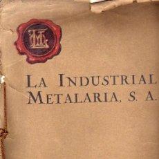Catálogos publicitarios: CATALOGO METALES ESTAMPADOS PARA MUEBLES AÑOS 20 Y 30. Lote 12707022