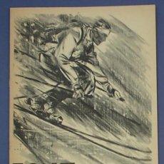 Catálogos publicitarios: FONT. CONSTRUCCIÓ D'ESQUIS BAVILLESSET. VENDA DE MATERIA ESPORTIU. HIVERN 1934 - 35.. Lote 23864895