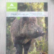 Catálogos publicitarios: CATALOGO DE CAZA. ARMERIA ALVAREZ 2007 - 2008. Lote 27602389