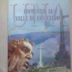 Catálogos publicitarios: HOMENAJE AL VALLE DE LOS CAIDOS. Lote 26284327