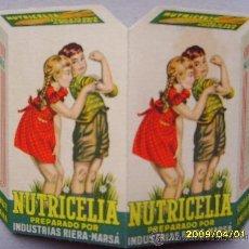Catálogos publicitarios: NUTRICELIA. Lote 27613827