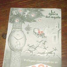 Catálogos publicitarios: RELOJ DOGMA. PUBLICIDAD HOJA DE REVISTA AÑO 1961. TAMAÑO: 19 X 13 CM. . Lote 14589861