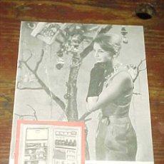 Catálogos publicitarios: FRIGORIFICO AMERICANO KELVINATOR. PUBLICIDAD HOJA DE REVISTA AÑO 1961. TAMAÑO: 19 X 13 CM.. Lote 14589903