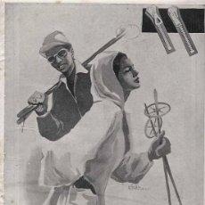 Catálogos publicitarios: PUBLICIDAD ANUNCIO DE CREMALLERAS PRENTICE. AREITIO. VITORIA.. AÑO 1955. Lote 14630493