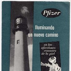 Catálogos publicitarios: CATALOGO DESPLEGABLE PUBLICITARIO DE FARMACIA. CORTRIL. LABORATORIO PFIZER. MADRID. Lote 15375278