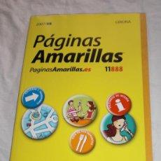 Catálogos publicitarios - Guía Telefónica comercial · Páginas Amarillas de Girona 2007-2008 - 15548428