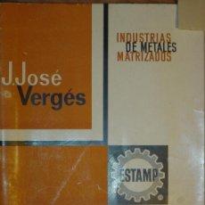 Catálogos publicitarios: CATÁLOGO HERRAJES PARA MUEBLES. ESTAMP, J.JOSÉ VERGÉS. BARCELONA. 18 PÁGINAS. Lote 27401087