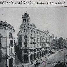 Catálogos publicitarios: 1916 HOJA PUBLICIDAD BANCO HISPANO-AMERICANO BARCELONA VER FOTOS. Lote 15891947