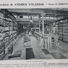 Catálogos publicitarios: HOJA PUBLICIDAD 1916 HEREDEROSDE ANDRES YGLESIAS BARCELONA. Lote 15963206