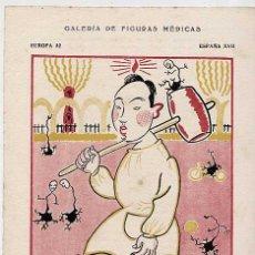 Catálogos publicitarios: ANTIGUA LAMINA: DOCTOR ROMAN ALBERCA LORENTE, MEDICO DEL MANICOMIO PROVINCIAL DE MURCIA. AÑO 1932.. Lote 205595385