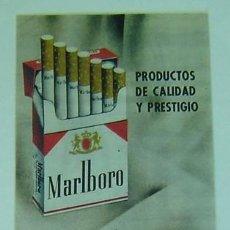 Catálogos publicitarios: ANUNCIO PUBLICITARIO MARLBORO Y PHILIP MORRIS-AÑOS 1960S-MEDIDA 12,5*33 CMS.. Lote 17840665