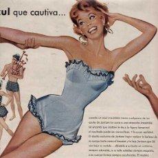 Catálogos publicitarios: PUBLICIDAD ANUNCIO BAÑADORES JANTZEN PORTLAND OREGON 34 X 25 CM.AÑO 1955. Lote 16774028