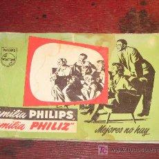 Catálogos publicitarios: CATÁLOGO PHILIPS 1966.40 PÁGINAS Y NUMEROSOS ARTÍCULOS.. Lote 27574098