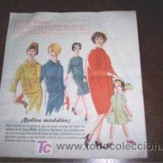 Catálogos publicitarios: PUBLICIDAD CURSO EVA CORTE Y CONFECCIÓN ACADEMIA AEI 1957. Lote 17190649