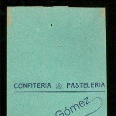 Catálogos publicitarios: BOLSA DE PUBLICIDAD ANTIGUA. CONFITERIA PASTELERIA MAXIMO GOMEZ. SANTANDER. 1930.. Lote 17723049