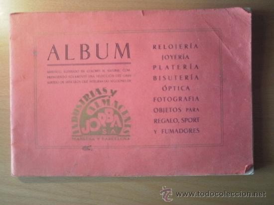 ALBUM PUBLICITARIO ALMACENES JORBA AÑOS 30 (Coleccionismo - Catálogos Publicitarios)