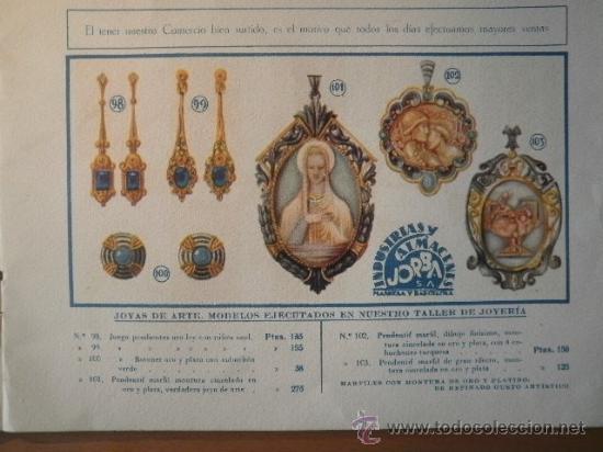 Catálogos publicitarios: ALBUM PUBLICITARIO ALMACENES JORBA AÑOS 30 - Foto 3 - 20748802