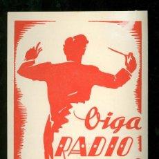 Catálogos publicitarios: RADIO MONTECARLO. TARIFA DE PRECIOS. 1951.. Lote 18167274