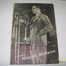 Catálogos publicitarios: EGYPTE - HISTORIE MODERNE-INFORMATION DEPARTMENT- CAIRO- EGYPT-S/F.. Lote 18545654