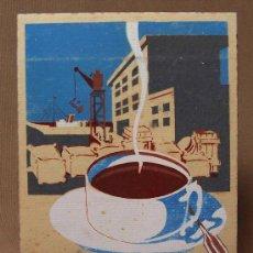 Catálogos publicitarios: DIBUJO, BOCETO, CARTEL PUBLICITARIO, ORIGINAL, 40-50S ESTILO, DECORACION, PUBLICISTAS, CAFE. Lote 31047452