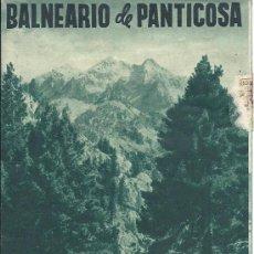 Catálogos publicitarios: PS3248 FOLLETO PUBLICITARIO BALNEARIO DE PANTICOSA. 1952.. Lote 19940413