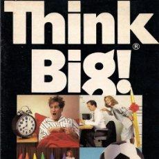 Catálogos publicitarios: THINK BIG - CATÁLOGO DE LA TIENDA DE OBJETOS GIGANTES. NUEVA YORK, 1988. Lote 24199214